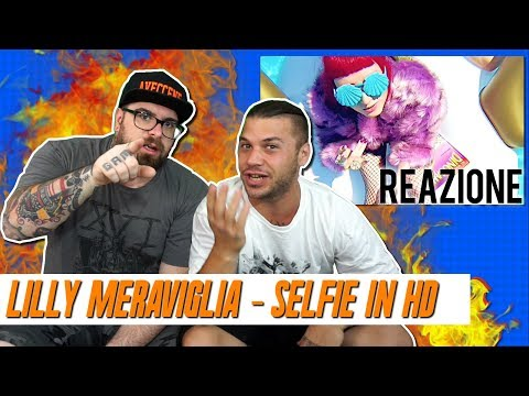 LILLY MERAVIGLIA - SELFIE IN HD | ARCADEBOYZ | RAP REACTION 2017