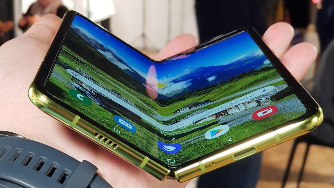 Samsung Galaxy FOLD! - Primul contact - Cavaleria.ro