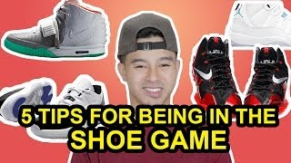 5 TIPS FOR COLLECTING SNEAKERS