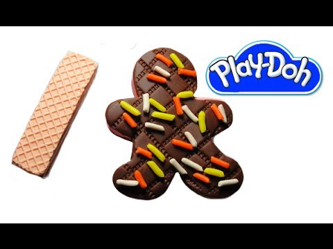 Play-Doh Icecream Sandwich and Wafer Biscuit