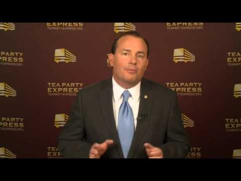 """""""Americans know in their hearts that something is wrong"""" - Senator Mike Lee"""