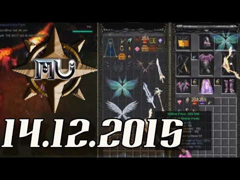 Livestream 14.12.2015: MU tutorial