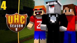 Minecraft Cube UHC (Ultra Hardcore) Season 8 - Episode 4 - Stay Here 4 Safety!