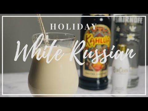 Holiday White Russian