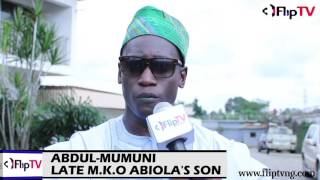 NO MORE JUNE 12 COMMEMORATION IN MY FATHER'S HOUSE- MKO ABIOLA'S SON, ABDUL' MUMUNI