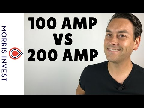100 Amp vs 200 Amp Electrical Panels - YouTube Upgrading Electrical Panel From To on