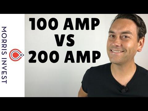 100 Amp vs 200 Amp Electrical Panels