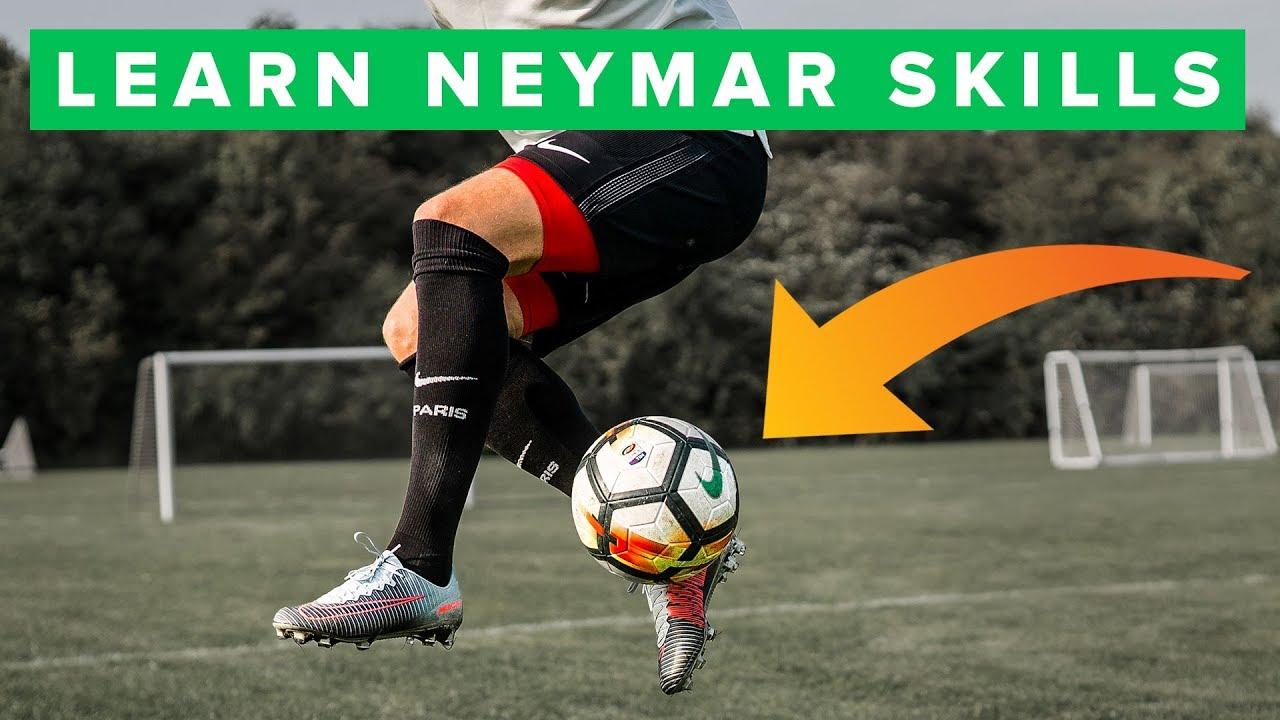 Learn Amazing Football Skills Tutorial ★ HD - Neymar ...