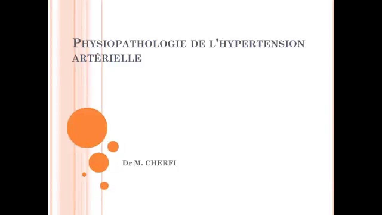 PHYSIOPATHOLOGIE l'hypertension artérielle - YouTube