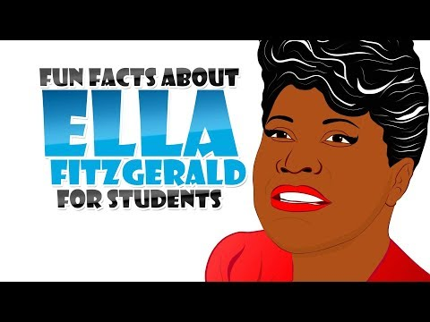 Who is the First Lady of Jazz? Ella Fitzgerald! Watch a Biography about her life (Black History)