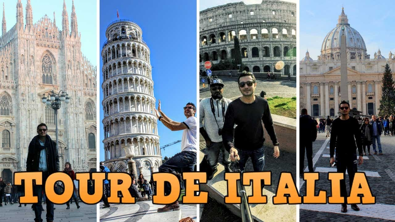 Italy Tour (Rome, Pisa, Milan & Vatican City)