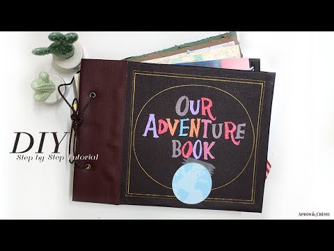 DIY OUR ADVENTURE BOOK Inspired by Up Disney Pixar