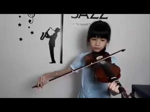 Tian Mi Mi - Nicole Tanaga Violin Cover Sonatina Music School Batam