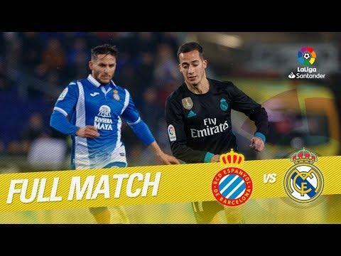 Full Match RCD Espanyol Vs Real Madrid LaLiga 2017/2018