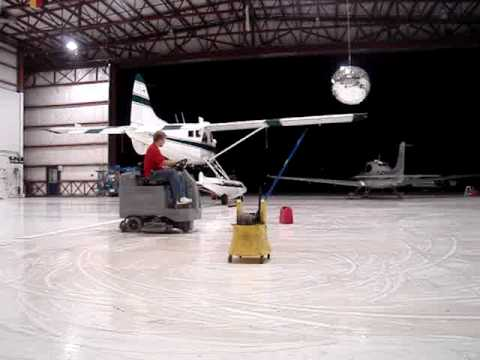 Zamboni drifting youtube for Floor zamboni