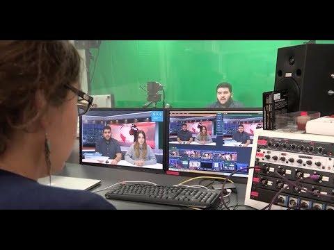 Atelier Média TV de l'EFJ