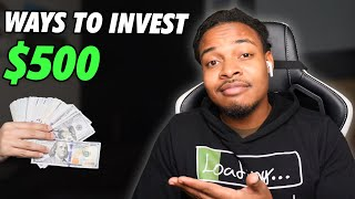 5 ways to invest $500 | (Start Investing for Beginners)