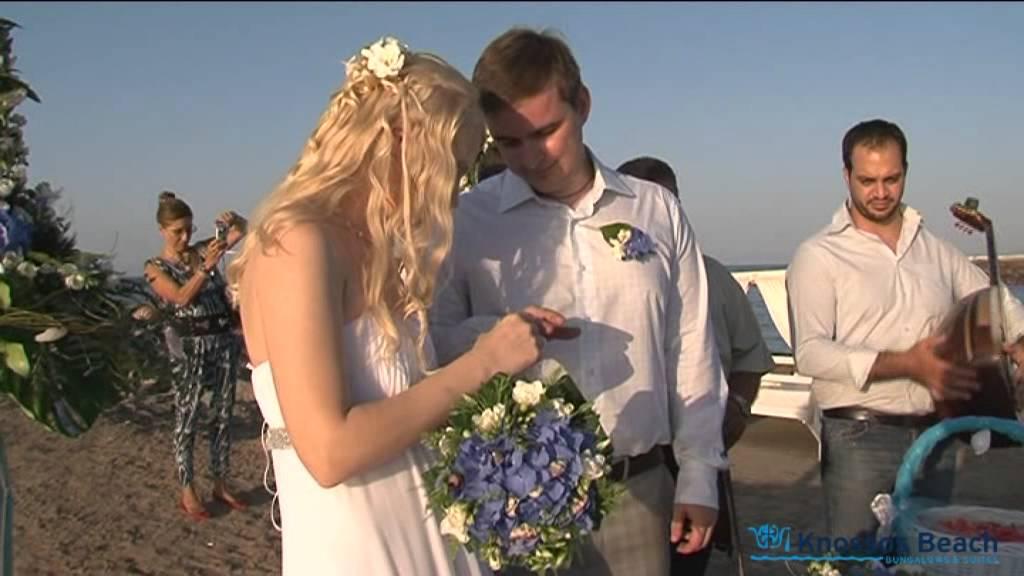 Wedding in Crete, at Knossos Beach Bungalows & Suites