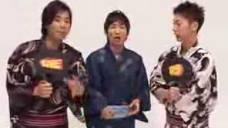 よしもと男前芸人2009 ライセンス藤原・はんにゃ金田・NONSTYLE石田.
