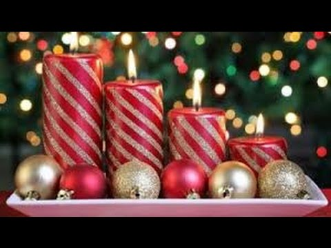 Decora Tus Velas De Navidad 60 Ideas Youtube - Velas-de-navidad