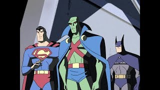 Лига справедливости. Бэтмен и Супермен встречают марсианского охотника