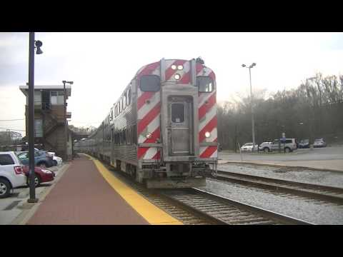 Metra Afternoon Commuter Rush @ Blue Island-Vermont St on April 14 2017