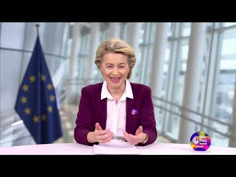 Ursula von der Leyen EU debates at the Seoul Summit 2021 P4G Green Growth and Global Goals 2030