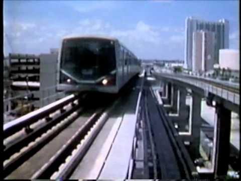 Downtown Metromover 1990
