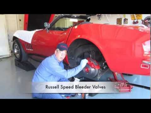 How to Bleed Brakes. Gravity Bleeding Car Brakes By Corvette Hop