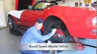 How to Bleed Brakes. Gravity Bleeding Car Brakes By Hopkins