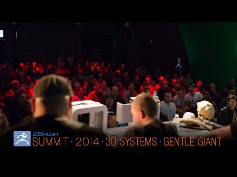 Official ZBrush Summit Presentation: 3DSystems/Gentle Giant Studios