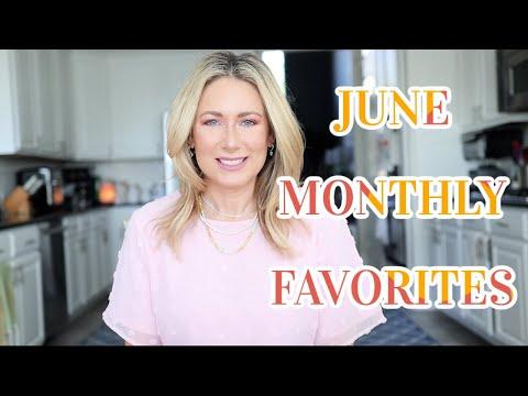 June Favorites | Tops in Beauty, Fashion & Lifestyle | MsGoldgirl - Видео онлайн
