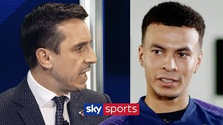Dele Alli responds to the criticism he's received from Neville, Keane & Souness in the past
