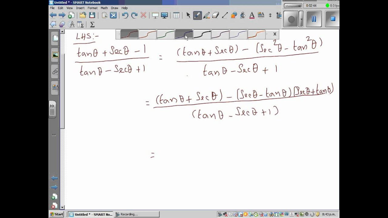 how to find the limit of 1-cosx sin 2 x