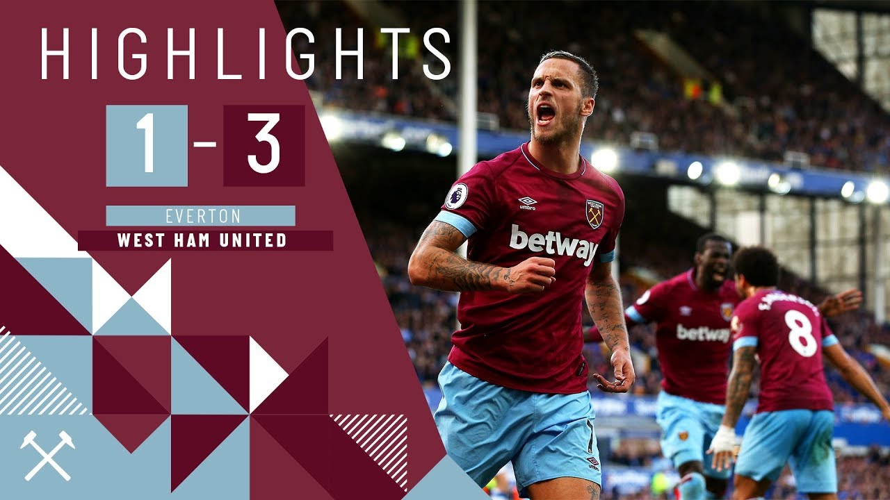 Highlights Everton Unu Trei West Ham United Yarmolenko Double Arnautovic Sealed The Win