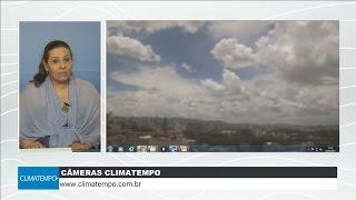 Céu de São Paulo mostra a mudança dos ventos