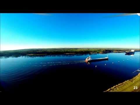 FPV DJI Phantom 2 North Sea-Baltic Canal Edited with GoPro