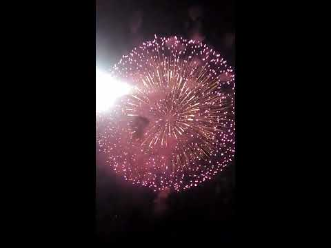 I fuochi d'artificio più spettacolari che abbia mai visto, ~Porticello~ 13/10/2019