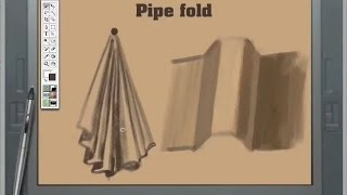 How to Draw and Paint Clothes and Folds