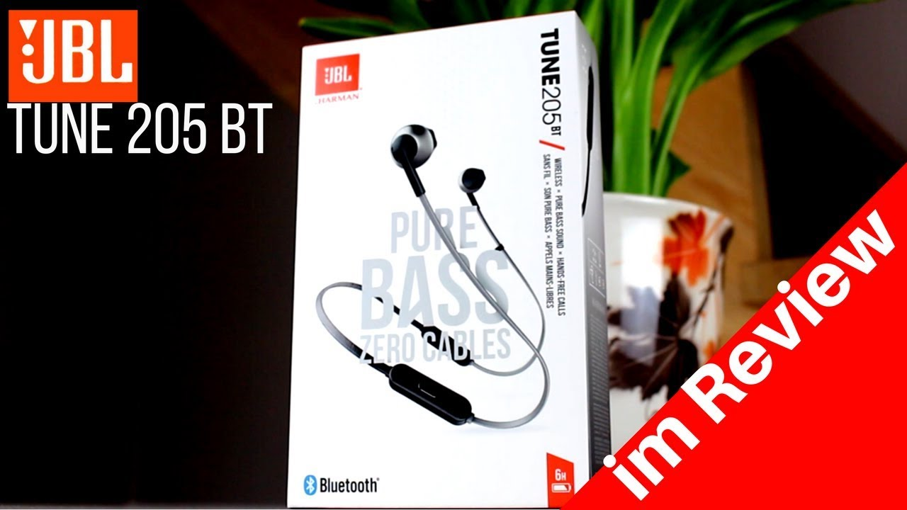 JBL TUNE 205BT Bluetooth Kopfhörer Review🎭 - YouTube 3e31beebbf
