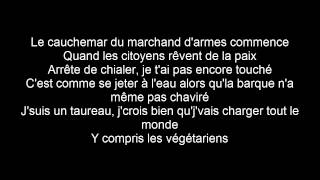 Maitre Gims - Noir + Lyrics