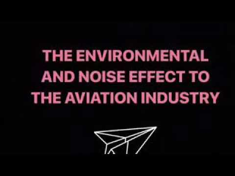 The Environmental And Noise Effect  The Aviation Industry
