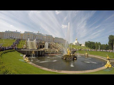 UNESCO World Heritage: Peterhof Gardens/Fountains, St Petersburg, Russia