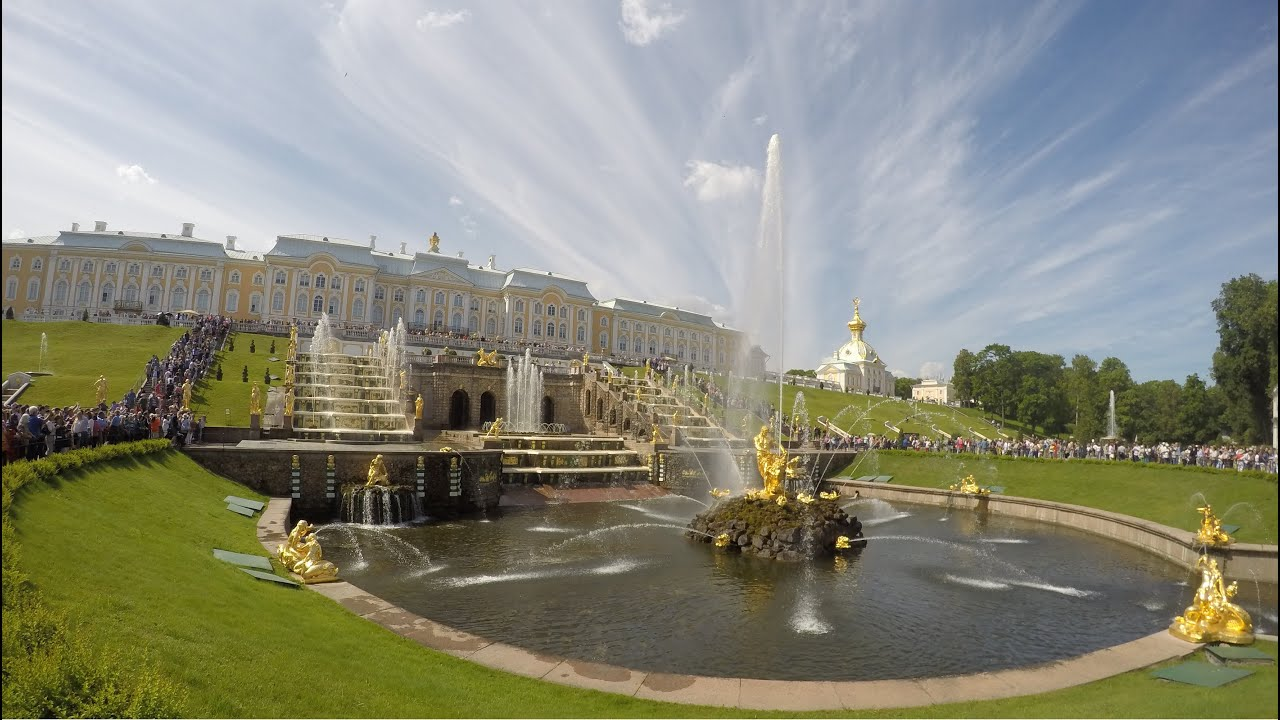Image result for Samson Fountain at Peterhof Palace, Saint Petersburg, Russia