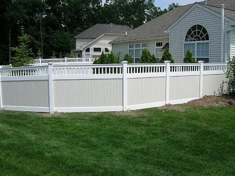 Privacy Pvc Fence Extensions Youtube