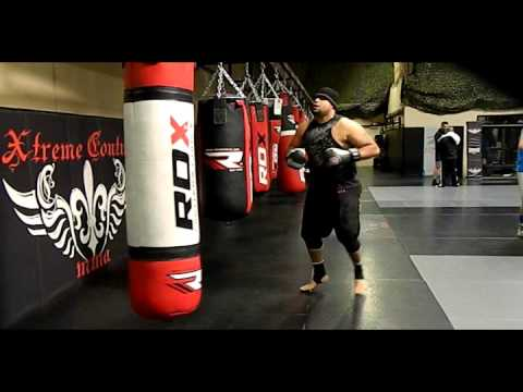 Visiting Randy Couture's  Xtreme MMA Gym