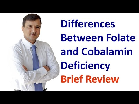 Cobalamin and Folate Deficiency How to Differentiate Both