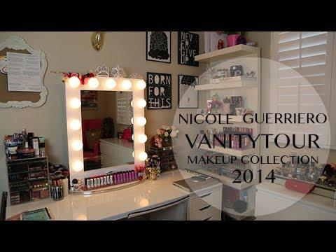 Vanity Tour | MakeUp Collection - Nicole Guerriero