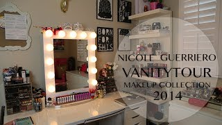 Vanity Tour | Makeup Collection - Nicole Guerriero