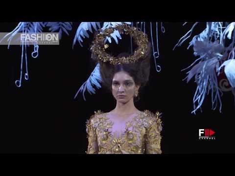 GUO PEI Haute Couture Spring Summer 2018 Paris - Fashion Channel